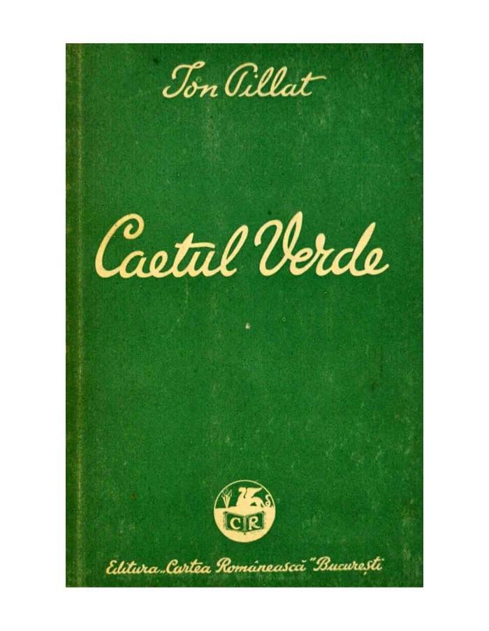 Caetul Verde - VERSURI 1928-1934