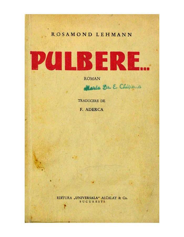 ROSAMOND LEHMANN-PULBERE