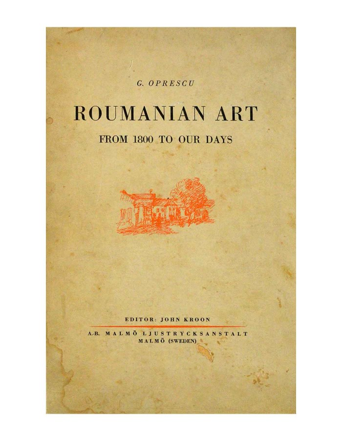 Roumanian Art From 1800 to our days