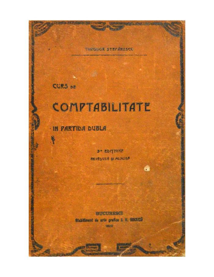 Curs de Contabilitate in Partida Dubla