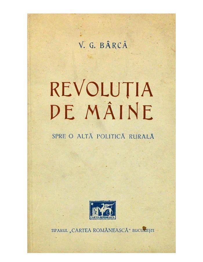 Revolutia de maine, spre o alta politica rurala
