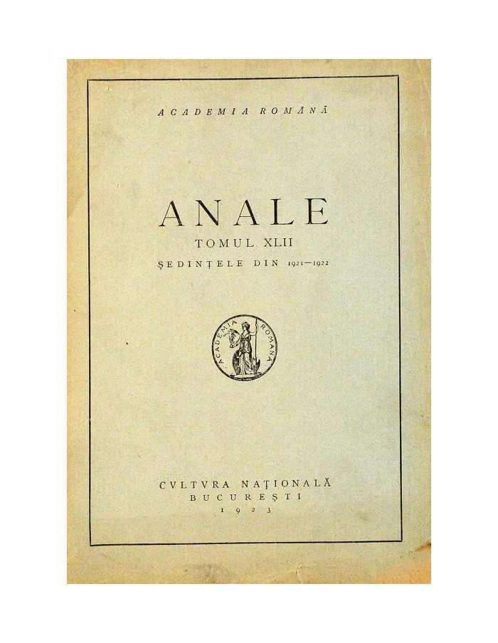 anale 1921