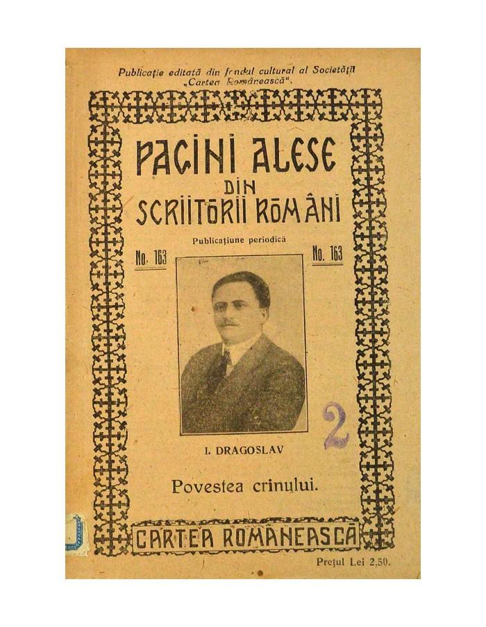 PAGINI ALESE din SCRIITORII ROMANI